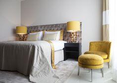 Byron & Jones Interiors - Bedroom - Flexform - Carpet - Yellow