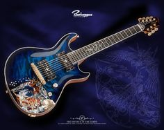 I think this might be the most beautiful guitar I have ever seen...