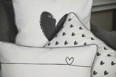 Hearts BC Cushions #BC #Winter 2016 #Cushions