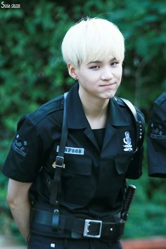 BTS || SUGA - Omg hello Mr. Police Officer Min Yoongi arrest me!!!! Please