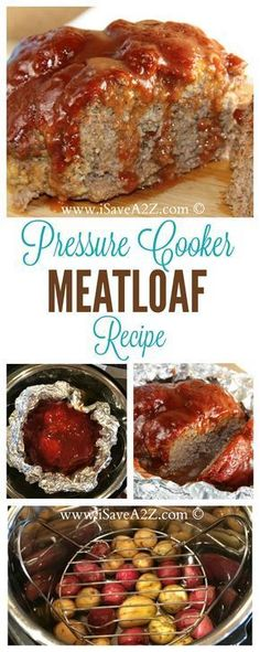 Amazing Meatloaf made in the Pressure Cooker. 1-16-17. This was amazing. Very good. Did not cook all the way through, though, and veggies were very mushy. In future, halve the meat recipe and decrease cooking time. Will make again.