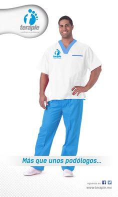 Diseño de uniformes para Terapie