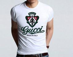 cheap Gucci clothing for men Gucci T Shirt Mens, Gucci Shirts, Gucci Men, Dolce And Gabbana Watches, Robin Jeans, Cheap Gucci, T Shirt World, Gucci Outfits, Classy Outfits