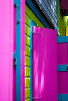 Pink shutters by coolsneakers2000, via Flickr