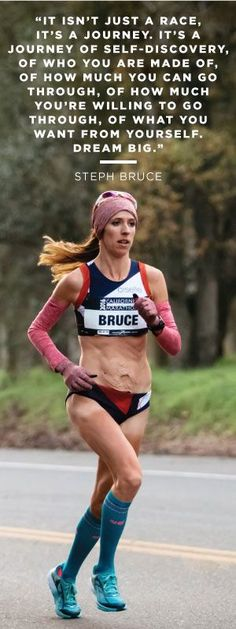 Steph Bruce: Olympic hopeful inspires women with post-pregnancy story