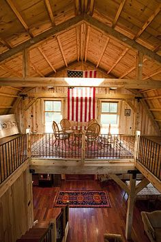 Sand Creek Post & Beam Barn Home