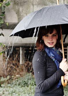 Seattle rain, portraits.