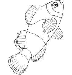 fish coloring pages (use as examples for a fish lesson) is part of Fish coloring page - Fish Coloring Page, Cool Coloring Pages, Animal Coloring Pages, Coloring Books, Coloring Sheets, Fish Patterns, Applique Patterns, Mosaic Patterns, Fish Stencil