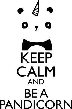 Funny Panda Unicorn Quotes Keep Calm and Be A Pandicorn Cushion Case - Decorative Square Throw Cushion Pillow Case Pillow Shell Pillowcase - inches, One-sided Print Keep Calm Posters, Keep Calm Quotes, Unicorn Quotes, Unicorn Puns, Funny Unicorn, Unicorns And Mermaids, Keep Calm And Love, Cute Drawings, Cute Wallpapers