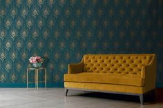 This beautiful Peacock Feathers Vinyl Wallpaper is an easy way to add elegance and luxurious touch to your walls. How To Apply: Paste the Wall. Ideal to use on a large wall area and makes a fabulous feature wall. Vinyl Wallpaper, Blue Marble Wallpaper, Paintable Wallpaper, Chic Wallpaper, Textured Wallpaper, Wallpaper Roll, Home Decor Kitchen, Home Decor Bedroom, Deco Retro