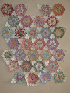 The Great Hexagon Quilt - Along too!!: Darcie