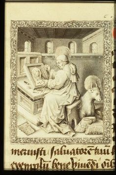Book of Hours (`Hours of Philip of Burgundy'; use of Paris), containing in French: Poème sur les mois. Prière du voyageur. Prières de saint Anselme. Prière du pêcheur. Méditation de la Passion (in Latin). Place of origin, date: Oudenaarde, Jean Miélot (scribe), Jean le Tavernier and follower (illuminators); c. 1450-1460. Added sections: Bruges, Master of the Prayer Books of c. 1500 (illuminator); c. 1500