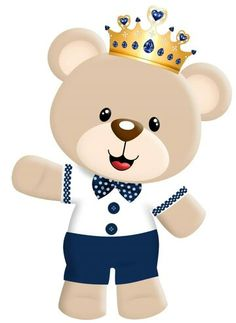 Cha do pietro Diy And Crafts, Crafts For Kids, Baby Painting, Bear Theme, Baby Shawer, Bear Party, The Little Prince, Cute Bears, Baby Cards