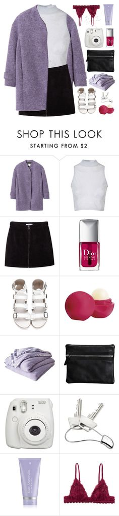 """""""amarinthe"""" by adal1ne ❤ liked on Polyvore featuring Rebecca Taylor, Glamorous, MANGO, Christian Dior, Eos, Shabby Chic, Repetto, Fujifilm, Georg Jensen and Kate Somerville"""