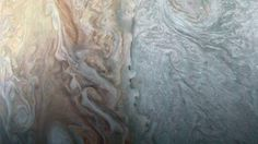 New Up-CloseImage of Jupiter's Stormy Clouds is Mind-Blowing