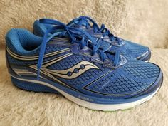 3711d4faa6309 Saucony Guide 9 Men s sizes 11 Blue Slime Black S20296-2 Running Shoes