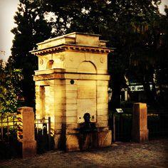 Brunnen vid Domkyrkan, 05:45