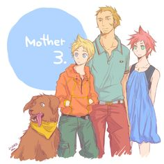 MOTHER 3. by SopranoFighter