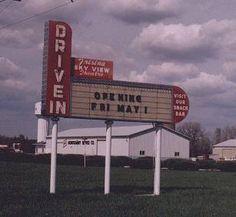 Skyview Drive-In    North Route 66, Litchfield, IL