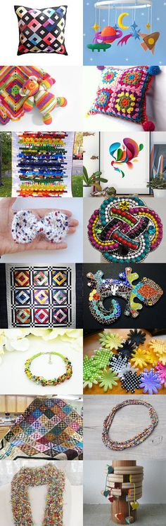 Colorful V intreasury from Jelena DizArtEx on Etsy--Pinned with TreasuryPin.com #colorful #colourful #multicolor