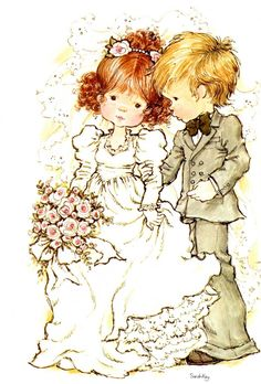 Immagini Sara Kay e Holly Hobbie Sarah Key, Holly Hobbie, Sara Key Imagenes, Mary May, Decoupage, Happy Marriage, Australian Artists, Illustrations, Colouring Pages