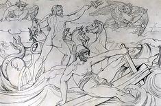 odysseus and calypso drawing - Αναζήτηση Google