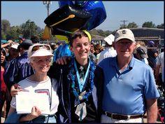 Adam's graduation with Grandma and Grandpa Graves