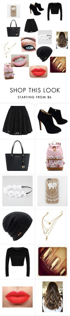 """""""I don't cite what people say about me !!!I love all my haters"""" by amyapayne ❤ liked on Polyvore featuring beauty, Giuseppe Zanotti, Michael Kors, Full Tilt and Coal"""