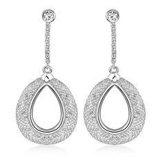 fad11f04e Angel Crystal Filled Mesh Drop Earrings Necklaces, Bracelets, Fashion  Jewellery, Crystal Earrings,