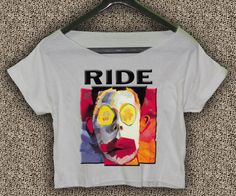 Ride+Band+Going+Blank+Again+T-Shirt+Ride+Band+Going+Blank+Again+Crop+Top+Ride+Crop+Tee+RG#02