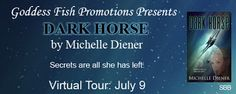 BOOK BLAST & #GIVEAWAY - Dark Horse by @MichelleDiener - #Romance, #Science_Fiction, Goddess Fish Promotions  (July)