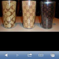 Designer travel coffee mugs