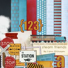 Lynn Grieveson - Steam Friends Kit $7.50 (Think the price on this one is a little high)