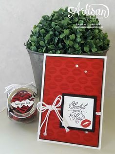 Stampinantics: SEALED WITH LOVE - STAMPIN' UP! ARTISAN BLOG HOP