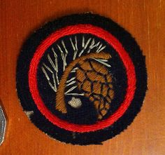 Girl Guide Pre Felt Patrol Badge Patch -- Antique Price Guide Details Page Brownies Girl Guides, Guide Badges, Boy Scouts, Chicago Cubs Logo, Ranger, Patches, Felt, Boys, Girls