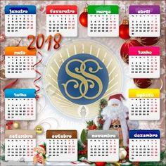 As Tontas Vão Ao Céu: Calendário Anual - Sociedade de Socorro 2018 (Marl...