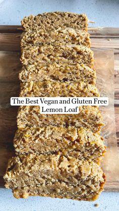 Gluten Free Oats, Gluten Free Recipes, Vegan Recipes, Vegan Snacks, Healthy Desserts, Healthy Foods, Healthy Eating, Sweets Recipes, Snack Recipes