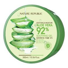 This soothing gel contains California CCDF certified organic Aloe Vera and mild to skin. Apply the blend gently over your face to create a natural glowing look. Find out more about benefit of using Aloe Vera for your skin here. Aloe Vera Gel, Aloe Vera For Skin, Natural Aloe Vera, Aloe Vera Face Mask, Organic Aloe Vera, Nature Republic Aloe Vera, Oily Skin Remedy, Best Face Products, Beauty Products