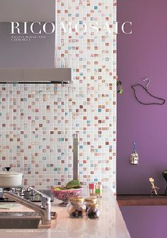 Moroccan Tiles, Kitchen Tiles, Beautiful Kitchens, Design Reference, Mosaic Tiles, Interior And Exterior, Sweet Home, Nagoya, Bathroom