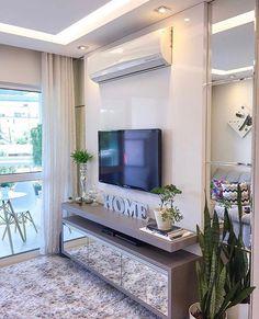 - Home Theater Studio Apartment Layout, Small Apartment Interior, Tv Unit Furniture Design, Living Room Tv Unit Designs, Tv Wall Decor, Tv Wall Design, Home Office Decor, Home Decor, Fashion Room