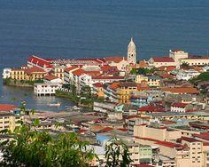 Panama City, Casco Viejo.