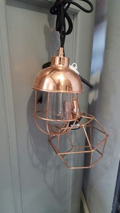 Metal lamp fixtures