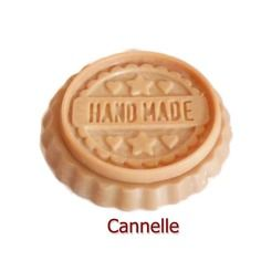 Fondant parfumé cannelletartelette cire végétale naturelle parfum d'ambiance