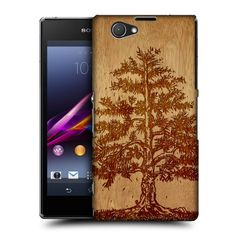 Head Case Designs Tree Wood Art Design for Sony Xperia Z1 Compact D5503