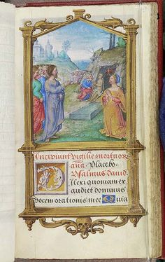 Book of Hours, MS M.696 fol. 213r - Images from Medieval and Renaissance Manuscripts - The Morgan Library & Museum