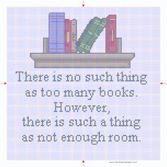 I want a library in my house!