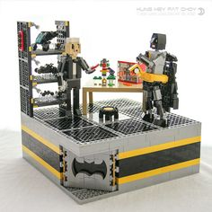 Dark Knight training regime redefined for the LEGO Batman Movie