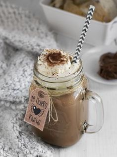 Chocolate caliente de Nutella