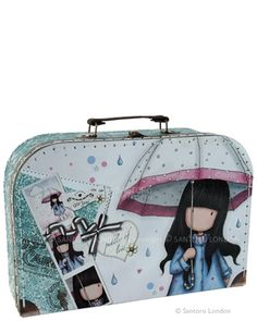 gorjuss  suitcase box - Puddles of Love