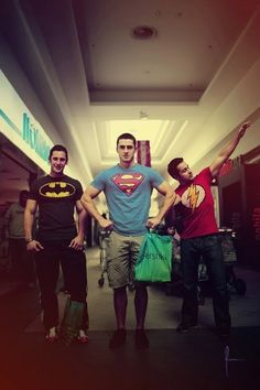 even super heroes have to go shopping!